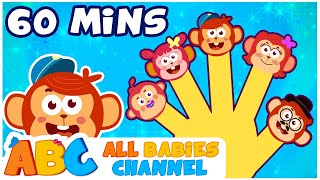 Finger Family Song | Finger Family Nursery Rhymes & More | Kids Songs | All Babies Channel