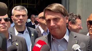 Bolsonaro visita Centro Industrial Nuclear de Aramar em Iperó