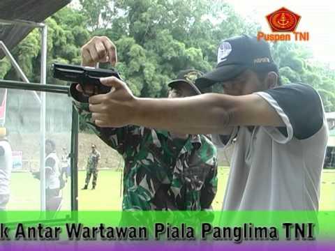 LOMBA MENEMBAK ANTAR WARTAWAN PIALA PANGLIMA TNI CUP
