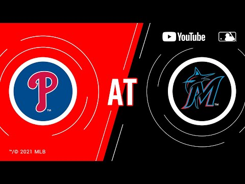 Phillies at Marlins | MLB Game of the Week Live on YouTube
