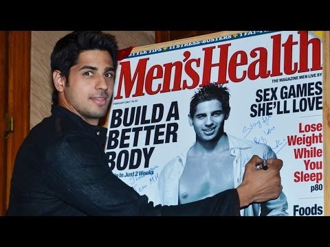 Sidharth Malhotra Shows Off His Abs!