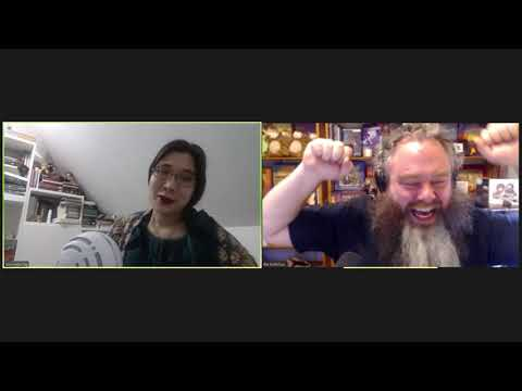 Pat Rothfuss and Jeannette Ng discuss writing, the Hugos, and humor: