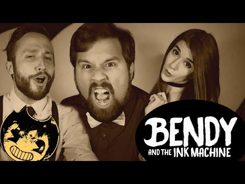 BENDY AND THE INK MACHINE (SONG) Gospel of Dismay -【COVER】Caleb Hyles, Jonathan Young & Adrisaurus