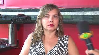Procuradora do município de Uberlândia se irrita com repórter sobre nomeação de ex-mulher de Temer.