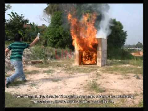 Soteria İle Yangına Başlangıçta İlk Müdahale
