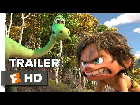 The Good Dinosaur Official Trailer #2 (2015) - Raymond Ochoa, Jeffrey Wright Animated Movie HD
