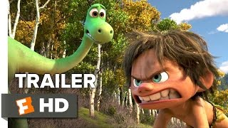 The Good Dinosaur Official Trailer  2  2015    Raymond Ochoa  Jeffrey Wright Animated Movie Hd