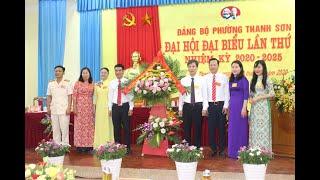 Đại hội đại biểu Đảng bộ phường Thanh Sơn lần thứ XI, nhiệm kỳ 2020-2025