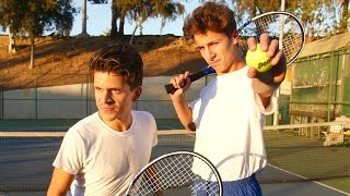 Terrible Tennis Players   Rudy Mancuso & Juanpa Zurita
