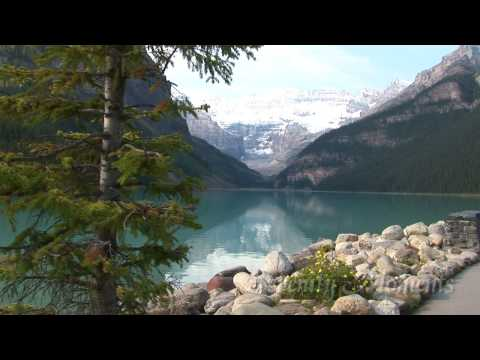 Canadian Rocky Mountains Scenic Relaxation Video from Serenity Moments (видео)