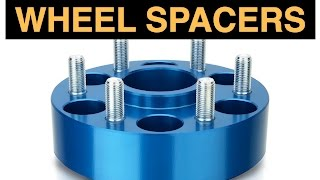 8. Wheel Spacers & Adapters - Good Or Bad?