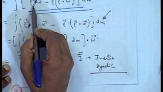 Mod-01 Lec-34 Attitude Dynamics (Contd...2)