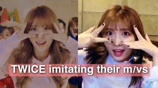 Video TWICE imitating their music videos MP3, 3GP, MP4, WEBM, AVI, FLV November 2018