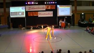 Christina Bischoff-Moos & Lukas Moos - Schwäbische Meisterschaft 2013