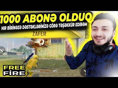TOMMİX AİLƏSİ ARTIQ 1000 ABONƏ OLDUQ FREE FİRE