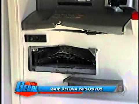 Bandidos tentam explodir caixas eletrônicos em Pratânia