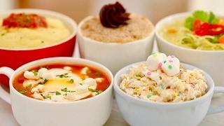 Microwave Mug Meals Worldwide (Mug Churro, Calzone, Rice Krispie Treat & More!) Bigger Bolder Baking by Gemma's Bigger Bolder Baking