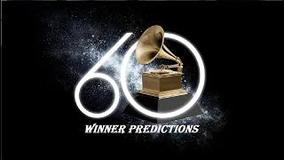 Grammy Awards 2018 Winner Predictions