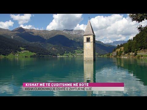 Kisha që qëndron në ujë (Video)