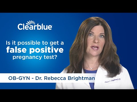 Wondering about false positive pregnancy test results?