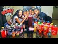 Extreme Juice Mixing Challenge Family Edition