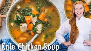 Sweet Potato Kale Chicken Soup by Tatyana's Everyday Food