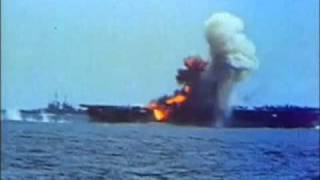 1944 on the Philippine sea, Japan begin desperate attempts to defend their homeland