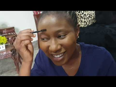 MAKE UP WITHOUT MIRROR COMPETITONS BETWEEN UCHENANCY AND HER DAUGHTERS -PICK OUT YOUR WINNER (FUNNY)