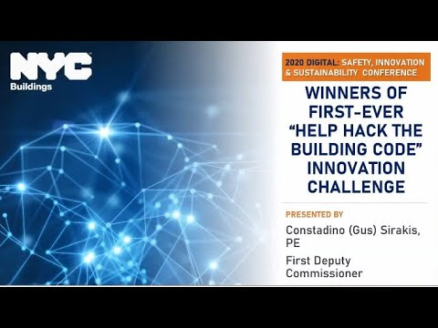 Winners of First-Ever 'Help Hack the Building Code' Innovation Challenge