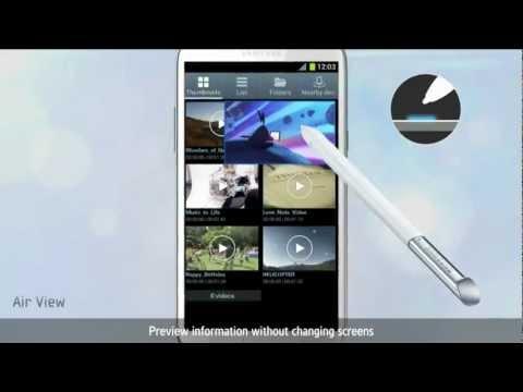 Samsung Galaxy Note II / Comercial 1
