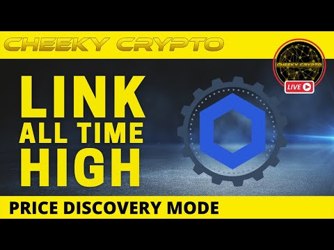 LINK Hits All Time High | Crypto Chat with Cheeky Crypto Live