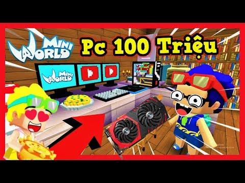 Mini World: Nếu phong cận sở hữu dàn pc 100 triệu siêu vip trong mini world   Phong Cận Tv - Thời lượng: 15 phút.