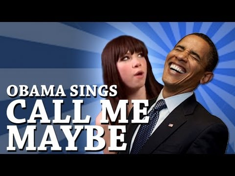 Barack Obama Singing Call Me Maybe by Carly Rae Jepsen_A valaha felt�lt�tt legn�pszer�bb h�rek