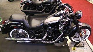 8. 2017 Kawasaki Vulcan 900 Classic - Walkaround - 2017 Montreal Motorcycle Show
