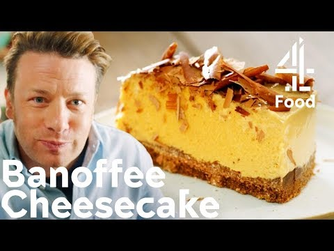 How to Make an ENTICING Banoffee Cheesecake in 30 Minutes! | Jamie's Quick & Easy Food