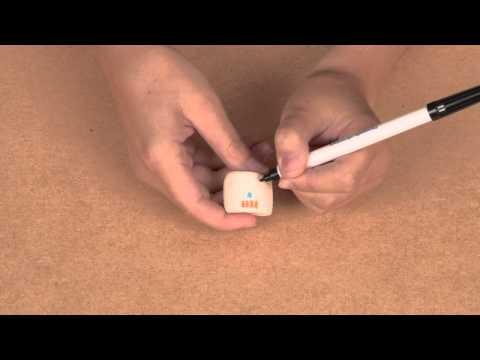 Marshmallows colorati Dia de los Muertos per Halloween