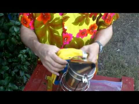Lighting a Smoker – Beekeeping Basics