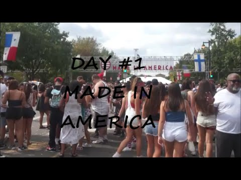 Day #1 MADE IN AMERICA FEST 2015 | Beyonce + More