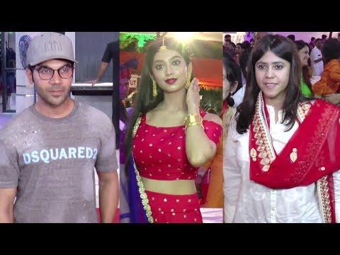 Rajkummar Rao, Ekta Kapoor And Others Celebrate Ja