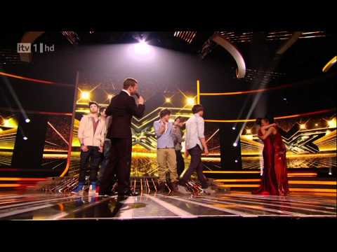 The X Factor 2010- Final Results- One Direction leaves The X Factor HD