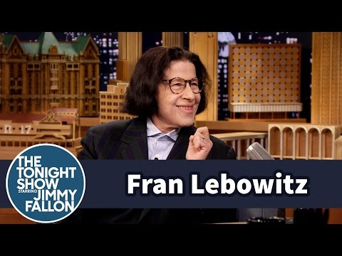 fran lebowitz essay
