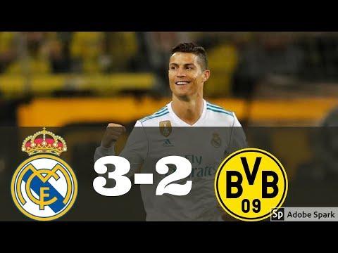 Real Madrid vs Dortmund All Goals & Highlights HD 12/6/17