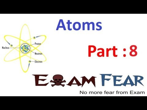 Physics Atoms part 8 (Bohr model & atomic spectra) CBSE class 12