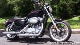 2. 2011 Harley Davidson 883 Sportster Superlow Used Motorcycles for sale