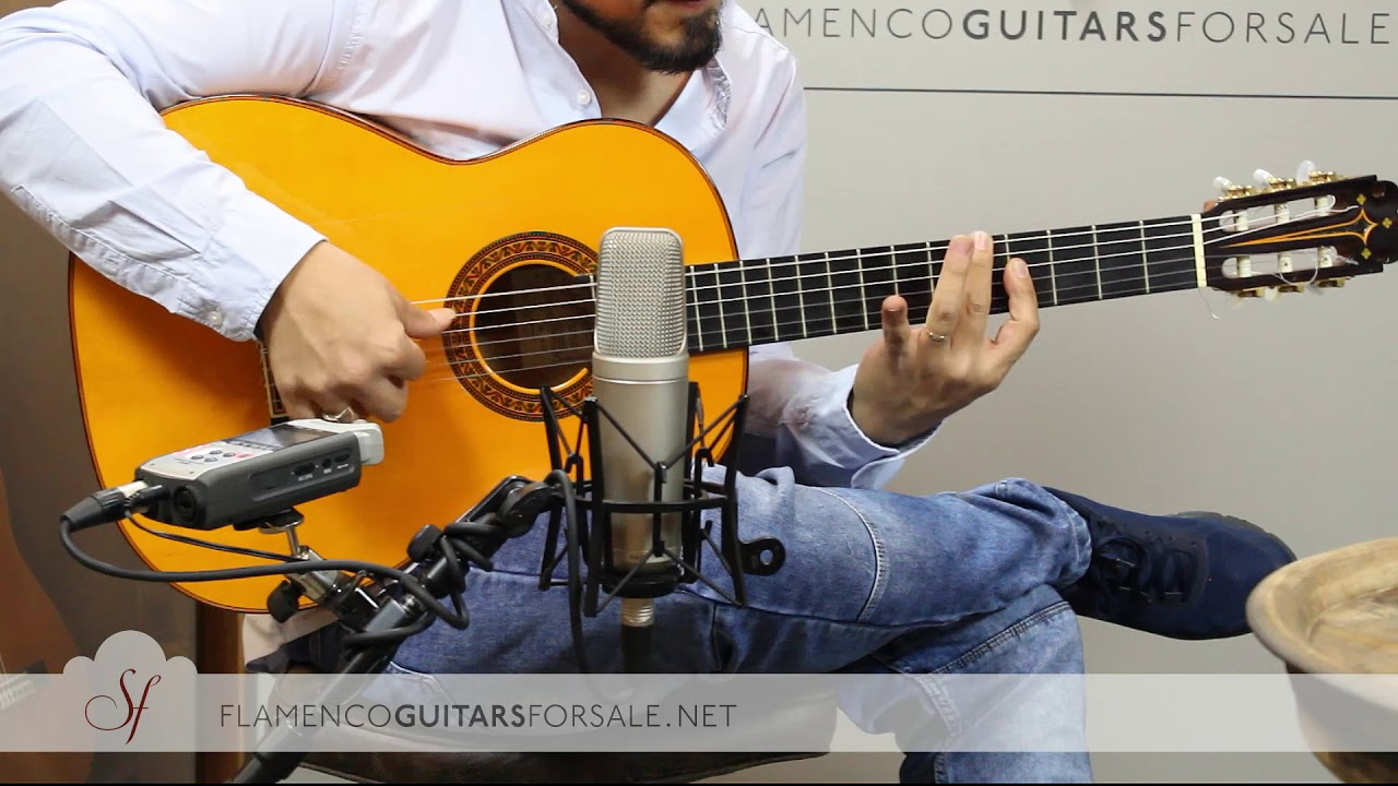 VIDEO TEST: Pedro Maldonado 2001 nº01159 flamenco guitar for sale