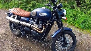 5. 2015 Triumph Scrambler Review