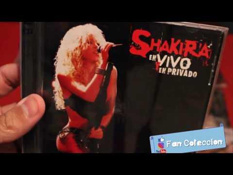 SHAKIRA - En Vivo y en Privado (Live & off the Record)  - CD - REVIEW - UNBOXING - 2004