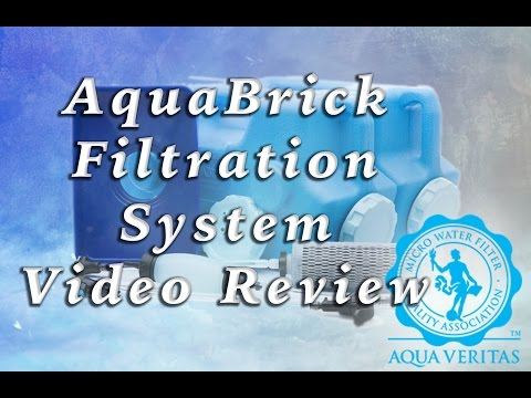 AquaBrick Filtration and Storage System