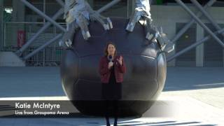 Katie McIntyre live from Groupama Arena