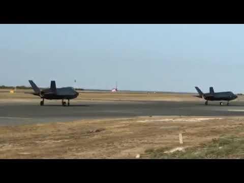 Video - Στην Κύπρο προσγειώθηκαν τα βρετανικά F-35